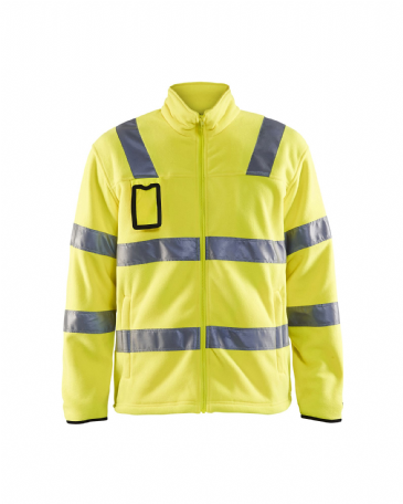 Blaklader 4833 Fleece Jacket High Visibility (Yellow)
